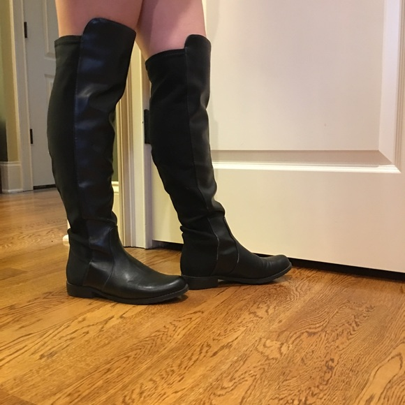 Brand New Boots Leather Black Faux 2HIWED9Y